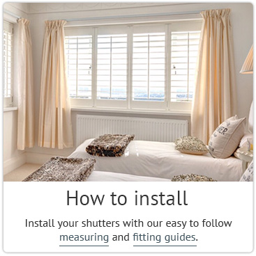 How To Install A Wooden Shutter