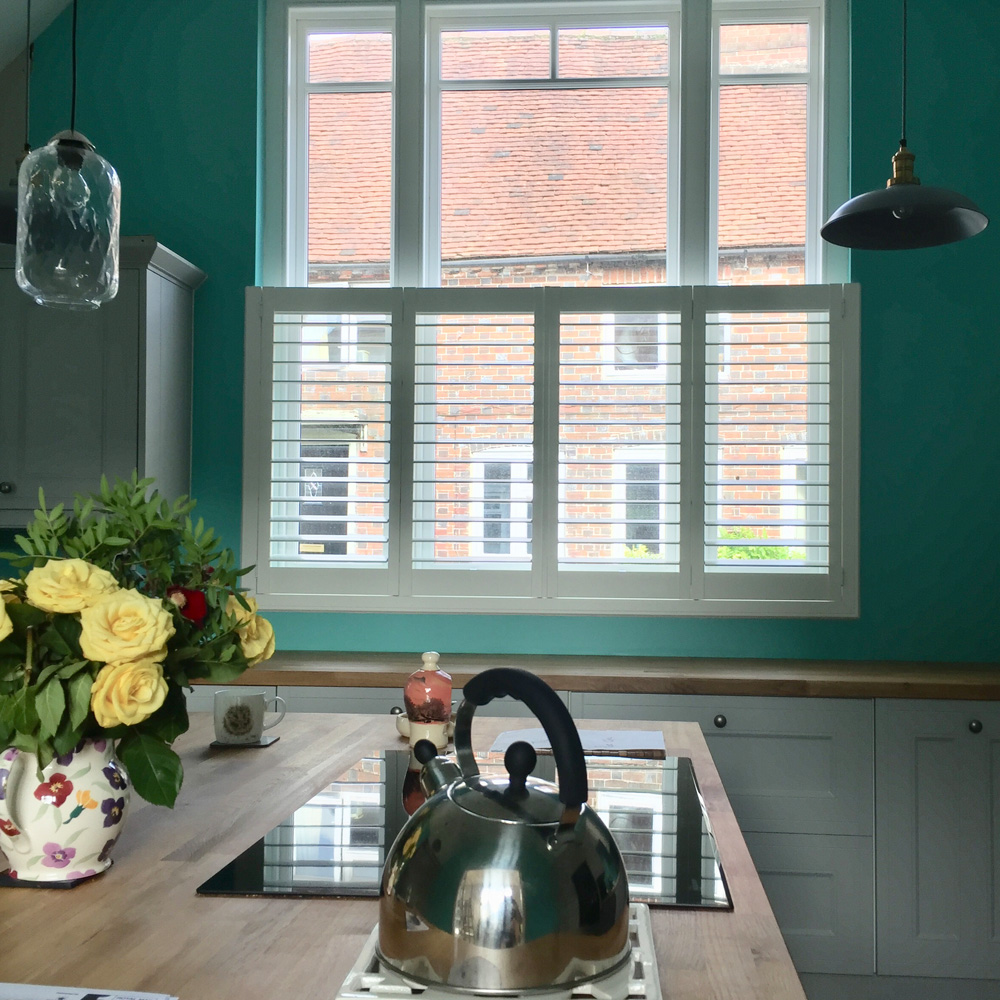 Kitchen Plantation Shutters