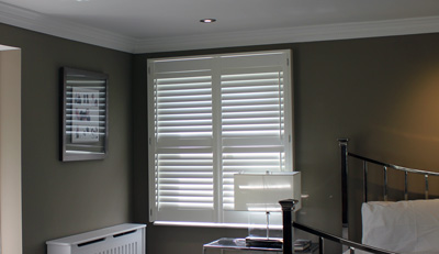 Bedroom Wooden Shutters